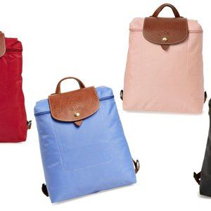 90% New LongChamp Blue backpack